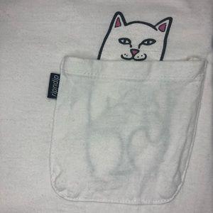 ☁️ White RipNDip T Shirt ☁️